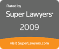 Super lawyers 2009