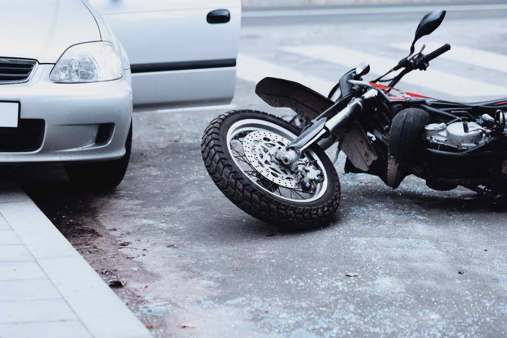 Motorcycle Hit While Parked: What Happens Next?